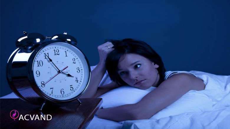 بدخوابی و ترک ورزش