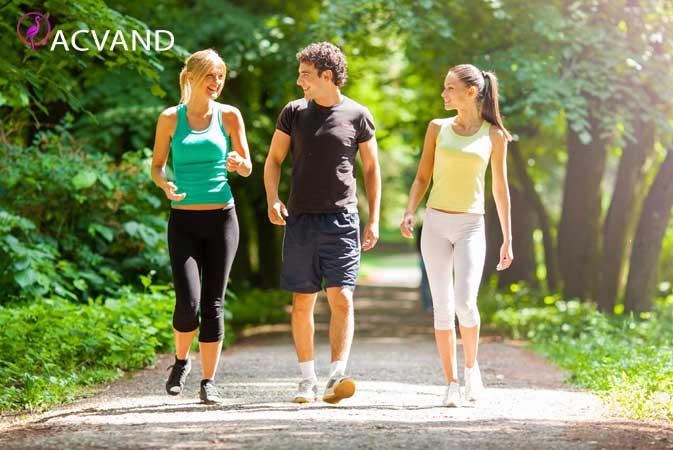 اهسته دویدن برای لاغری شکم