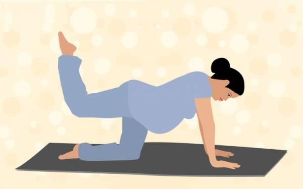 پیلاتس بارداری - حرکت جنبشی