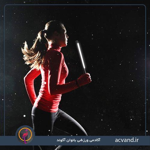 فواید ورزش کردن در شب