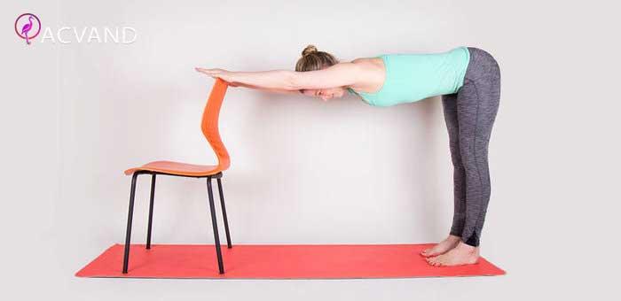 تمرین با صندلی در منزل