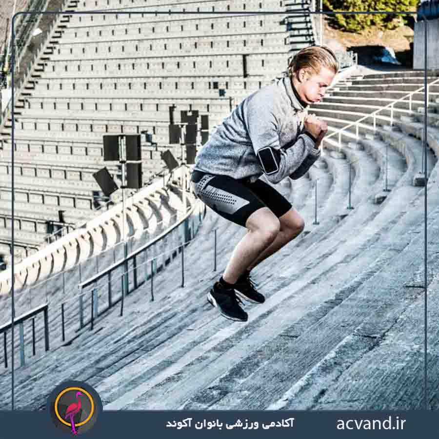 تمرین با پله در منزل