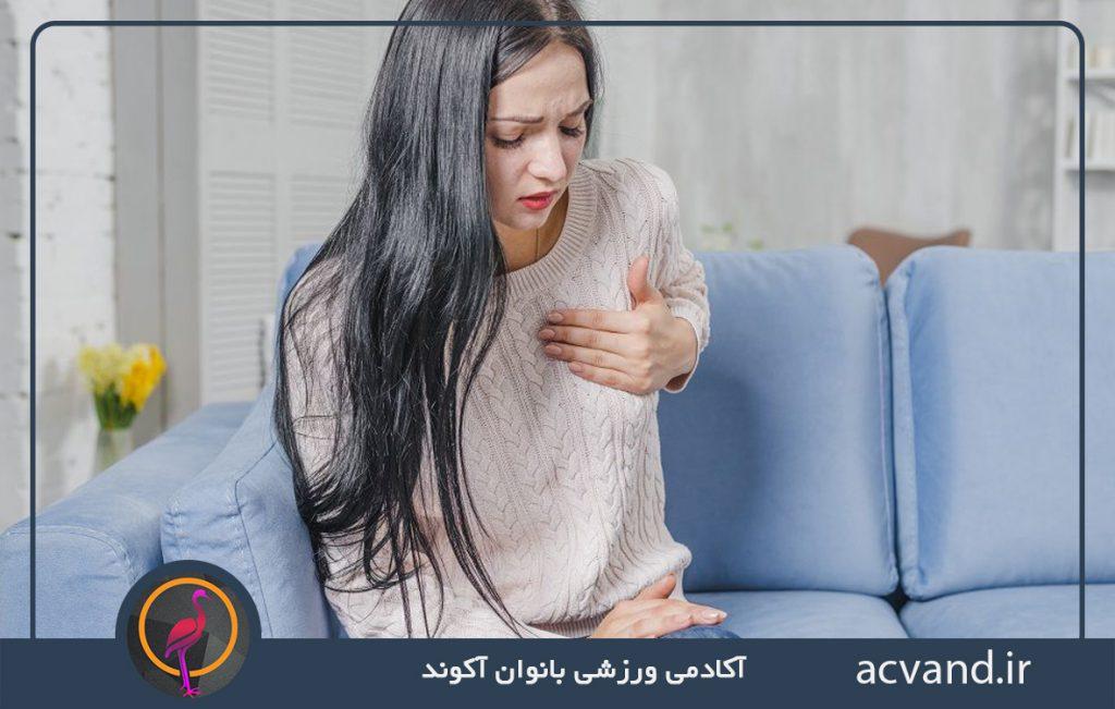استفاده از سوتین نامناسب و افزایش دردهای پریودی