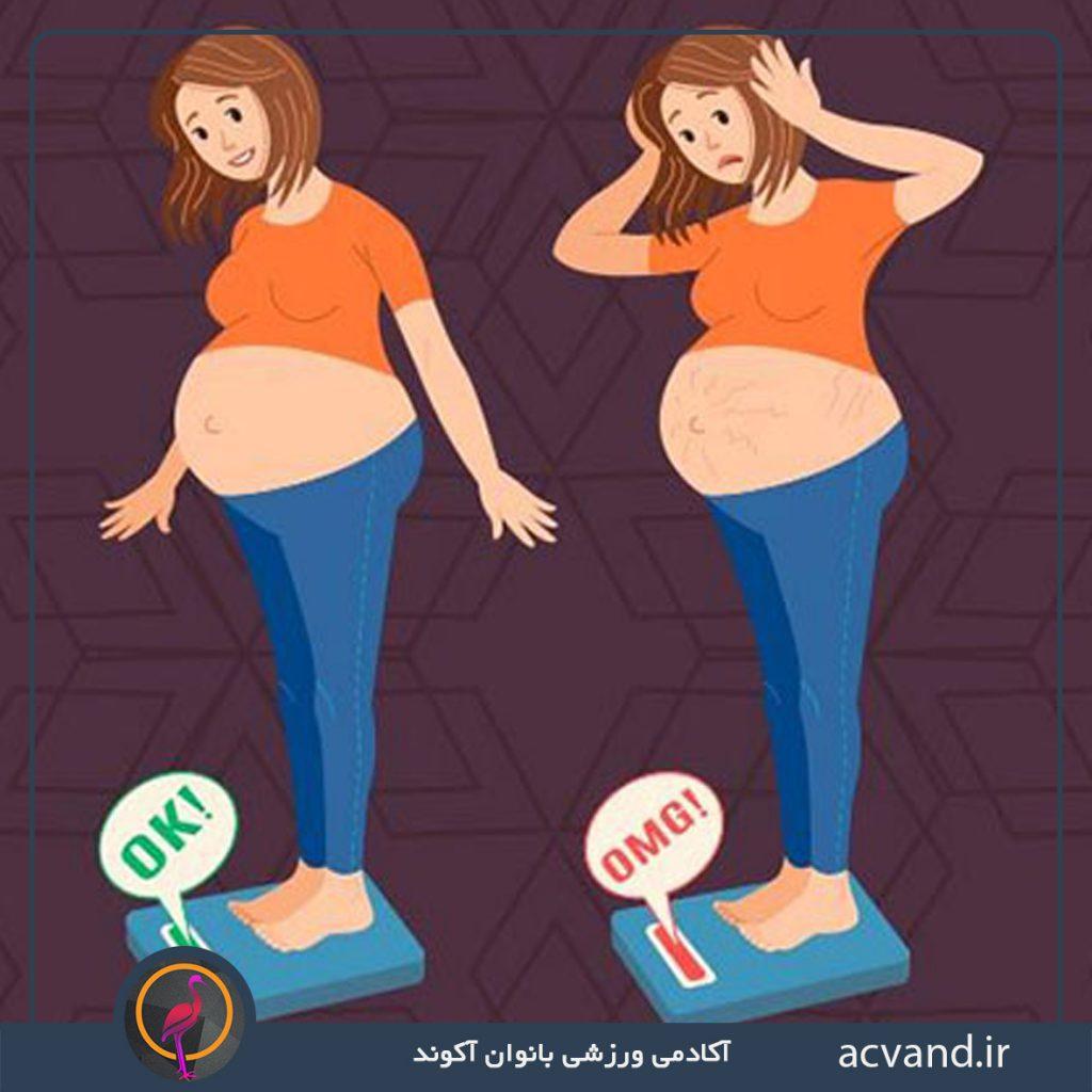 اضافه وزن و بارداری زنان