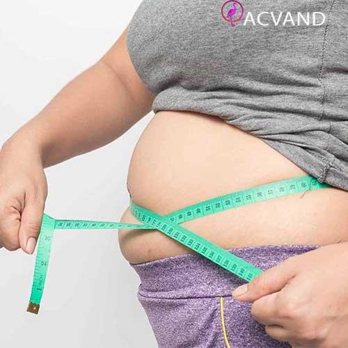 چاقی و عوارض + درمان