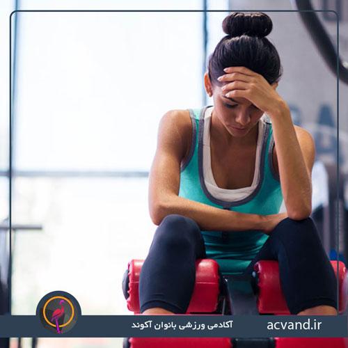 سر درد بعد از ورزش