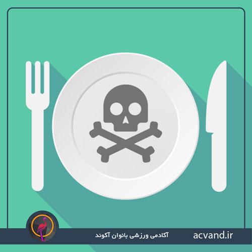 مسمومیت غذایی یا آنفولانزای معده