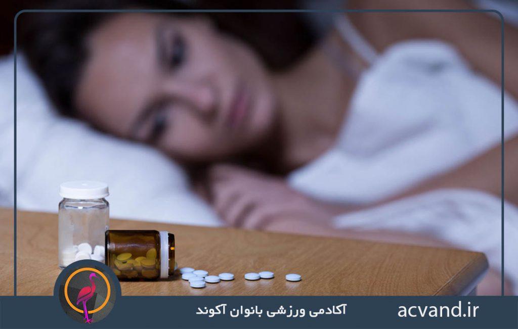 تأثیر داروهای ضد افسردگی بر خواب