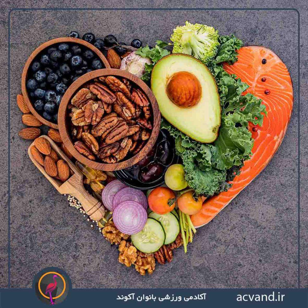 غذا های حاوی آنتی اکسیدان