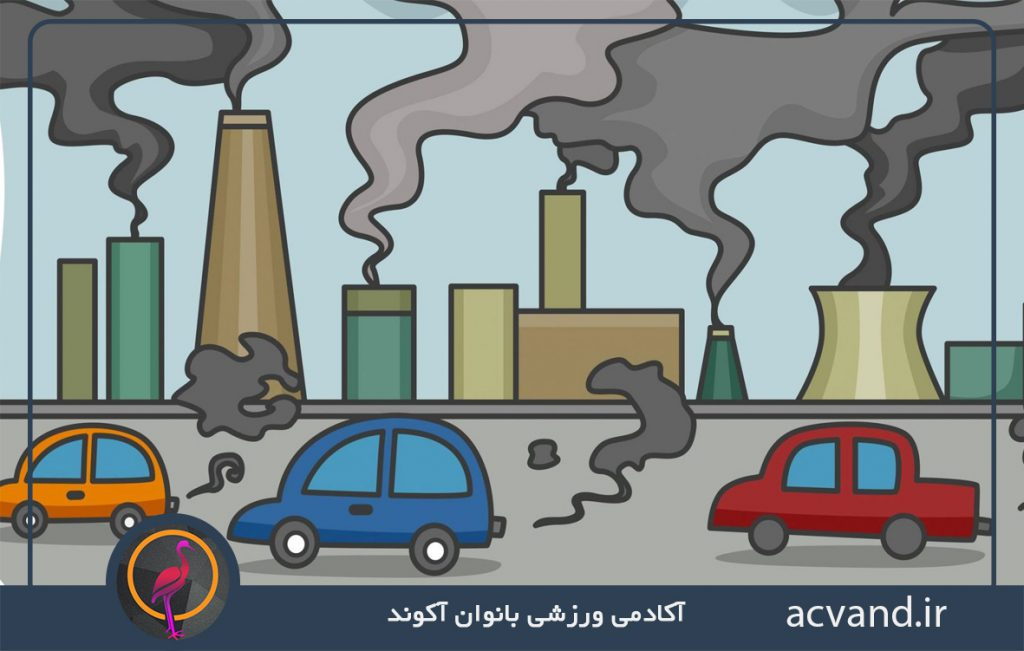 دلایل آلودگی هوا