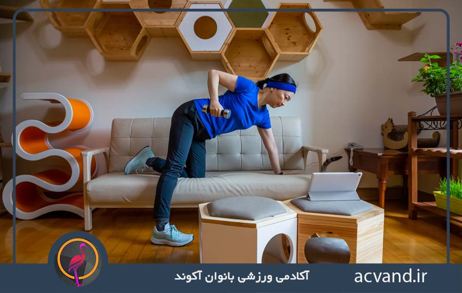 آموزش تمرینات و حرکات بدنسازی برای بانوان مبتدی در منزل