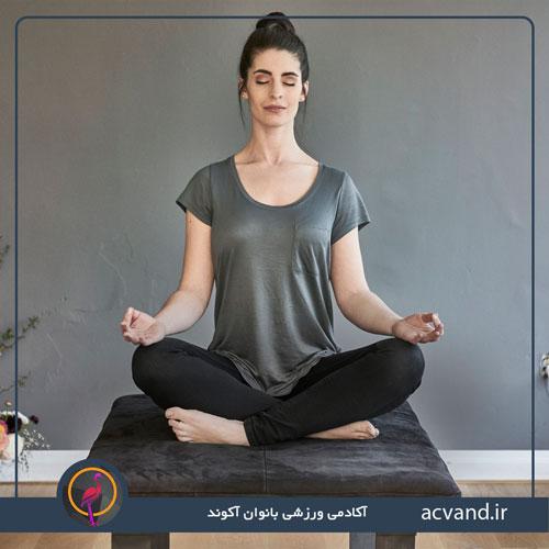 حرکات یوگا برای آرامش در خانه بانوان