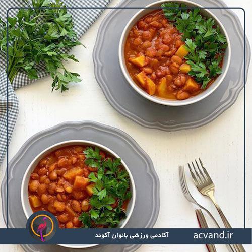 طرز تهیه خوراک لوبیا چیتی با چند راهکار ساده