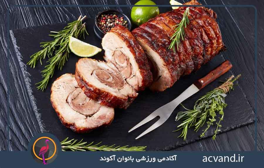 دستور پخت رولت گوشت بدون فر در منزل