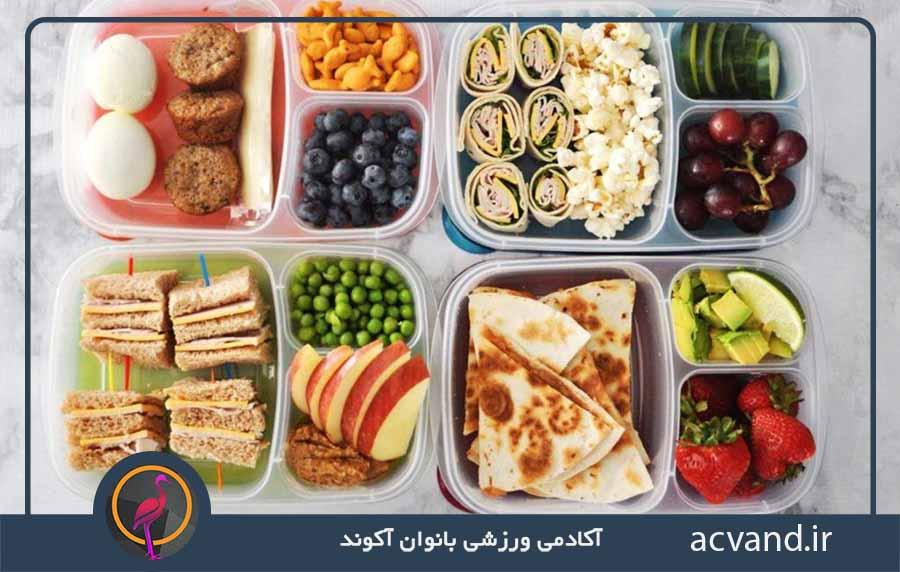 دریافت برنامه غذایی افزایش وزن سریع بانوان
