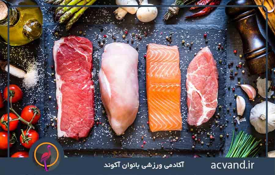 لاغری سریع با مصرف گوشتهای کم چرب و سینه مرغ