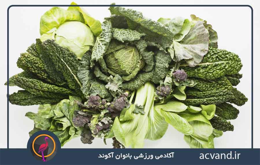 لاغری سریع با مصرف سبزیجات برگ دار