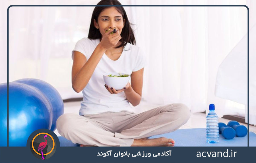 تغذیه بعد از ورزش برای چاق شدن