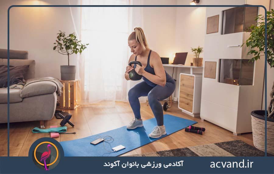 دریافت برنامه تمرین بدنسازی حرفه ای بانوان در منزل
