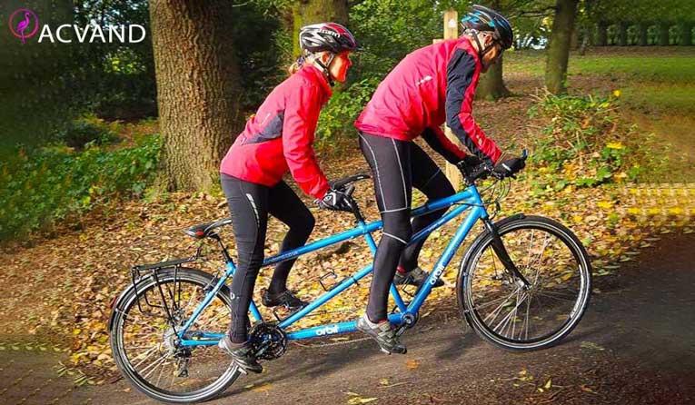 دوچرخه سواری برای اب کردن چربی های شکم