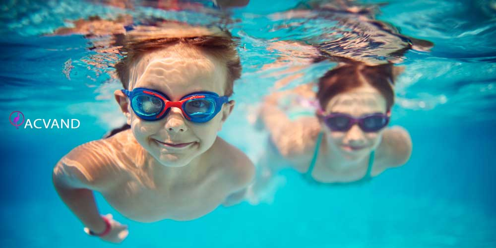- ورزش شنا و تاثیرش بر شکم