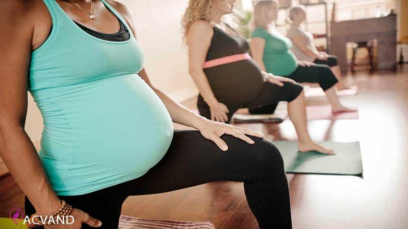 انجام ورزش یوگا در دوران بارداری