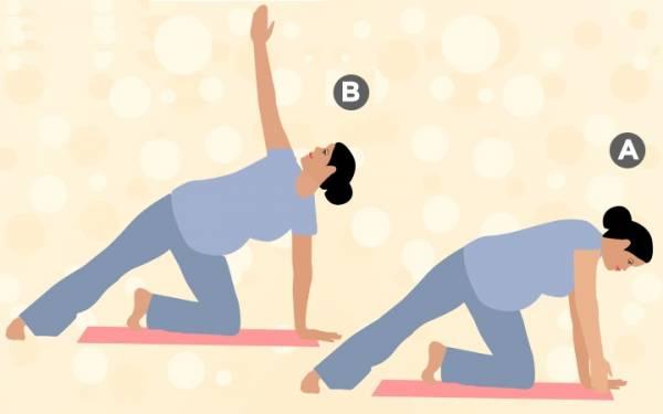 9 تمرین تاثیرگذار در دوران بارداری/ورزش پیلاتس