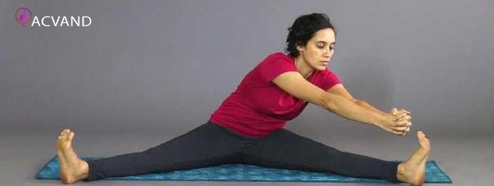 تمرینات یوگا برای اب کردن چربی های شکم