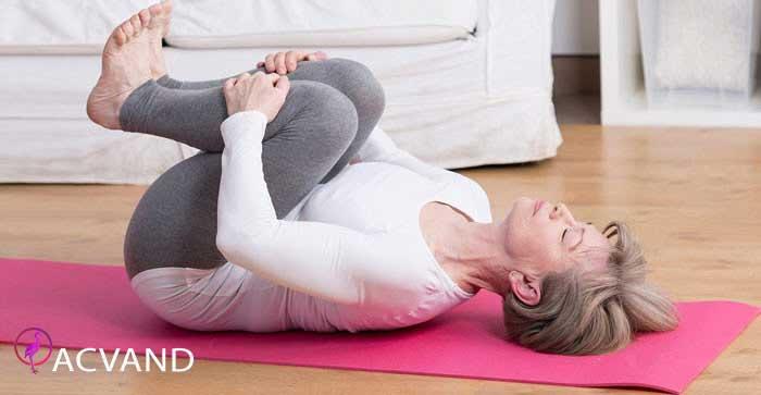 حرکت رها سازی در یوگا