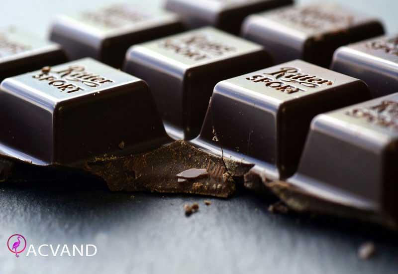 تاثیر شکلات تلخ بر لاغری و کاهش اشتها