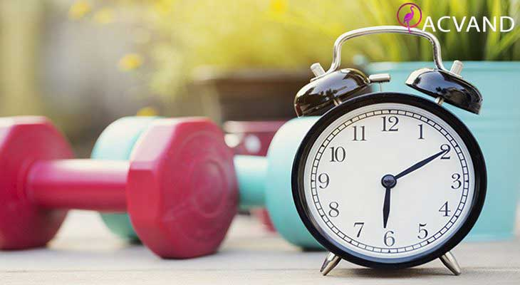 ساعت ورزش کردن