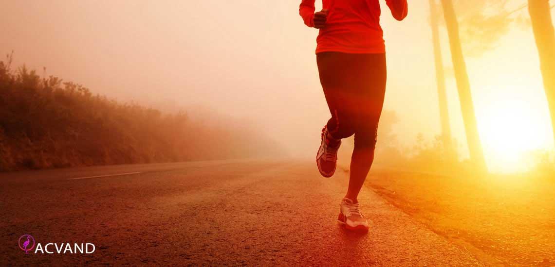 ورزش کردن و دویدن