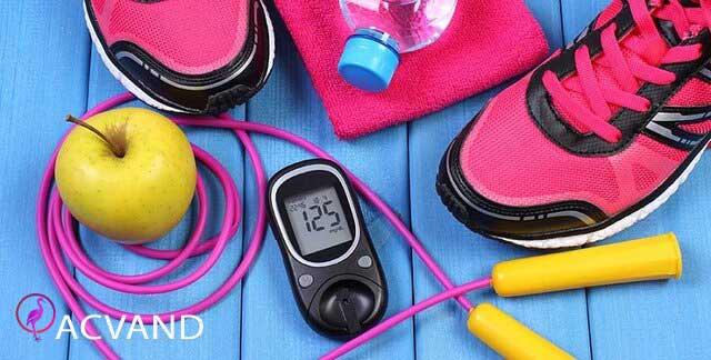 کنترل دیابت با ورزش کردن