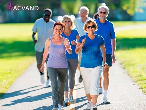 پیاده روی برای سلامت قلب