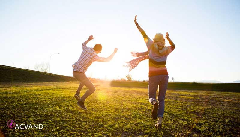 شادابی و نشاط با ورزش کردن