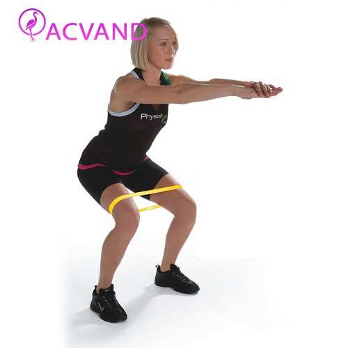 ورزش پیلاتس با کش