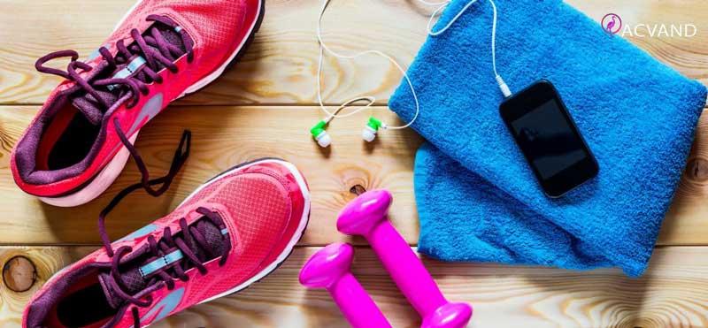 لوازم مورد نیاز هر ورزش
