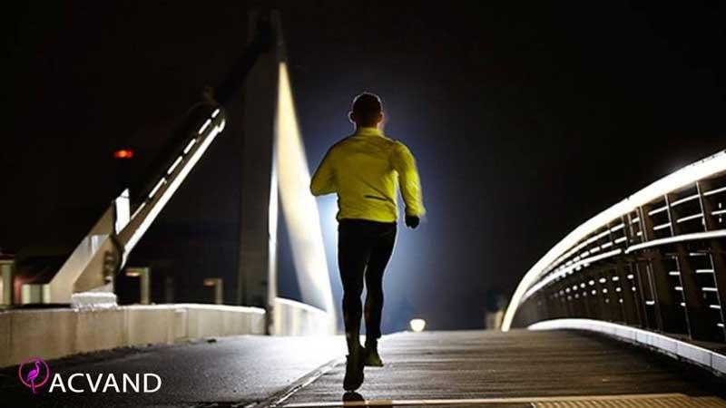 ورزش کردن در شب