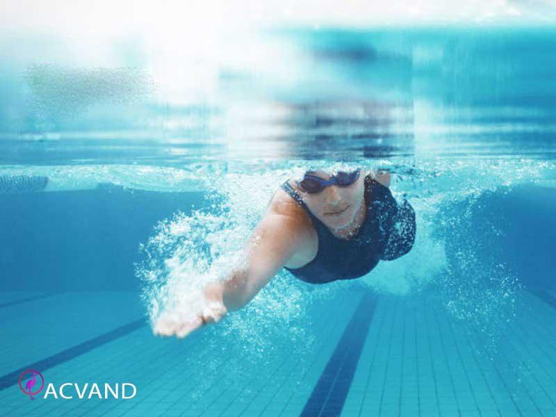 شنا و لاغری