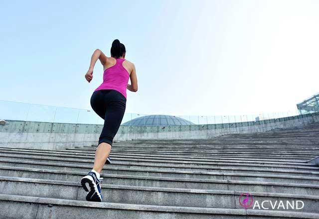 بالا رفتن از پله و لاغری