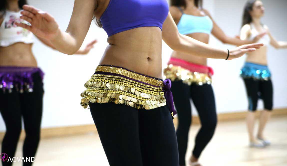 لاغری با رقصیدن